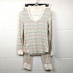 Victoria's Secret Waffle Knit Pajamas